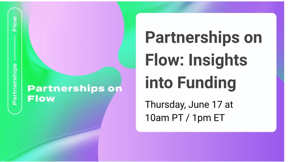 Partnerships on Flow (1)
